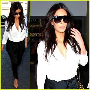 Kim Kardashian Flies Out of Town Amid New Wedding Rumors!