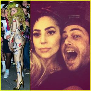 Lady Gaga Hangs with Boyfriend Taylor Kinney Before Roseland Ballroom Show!