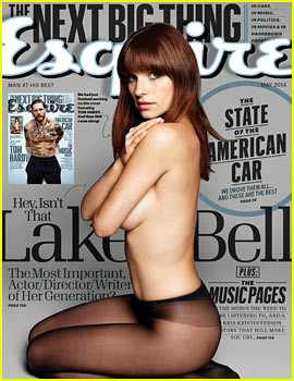 Lake Bell Strips Down Topless, Displays Amazing Figure for 'Esquire' May 2014