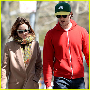 Leighton Meester & Adam Brody Walk their Pups in First Post-Wedding Sighting Together!