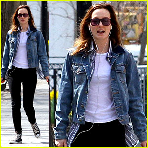 Leighton Meester Celebrates Her 28th Birthday with a Dog Walk!