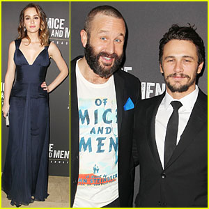 Leighton Meester Says 'Of Mice & Men' Costar James Franco Is Very Funny!