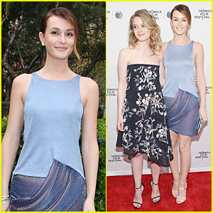 Leighton Meester & Gillian Jacobs Are 'Life Partners' at Tribeca Film Festival Premiere!
