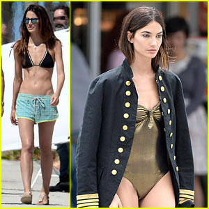 Lily Aldridge's Toned Tummy is Why You Should Hit the Gym Now!