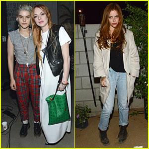 Lindsay Lohan & Riley Keough Make Virgin Sacrifices at Coachella!