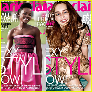 Lupita Nyong'o & Emilia Clarke Land 'Marie Claire' May 2014 Covers!