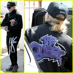 Madonna is 'The Queen' at Her Gym in Los Angeles!