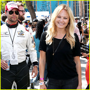 Malin Akerman Cheers on 'Friend' Colin Egglesfield at Toyota's Pro/Celebrity Race!