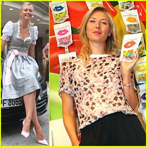 Maria Sharapova Celebrates 27th Birthday at Tennis Grand Prix!