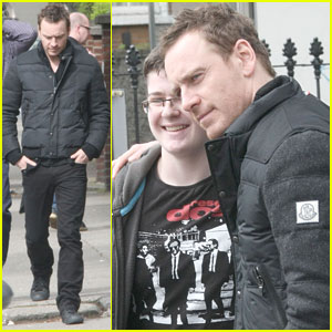 Michael Fassbender Dating Supermodel Naomi Campbell?