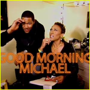Michael Strahan Makes Official 'Good Morning America' Debut - Watch Now!