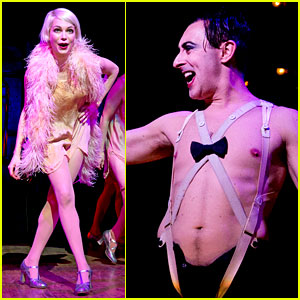 Michelle Williams Dances on Broadway in New 'Cabaret' Photos!