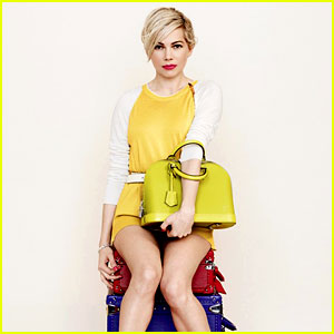 Michelle Williams' New Louis Vuitton Campaign Images Are Here!