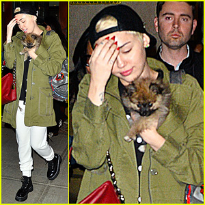 Miley Cyrus: 'Torn' About New Pup Moonie After Floyd's Death