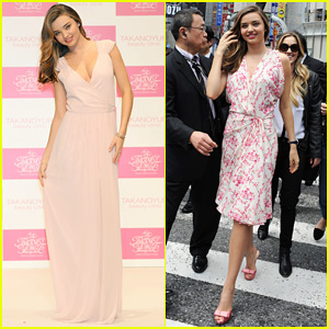 Miranda Kerr Is Spring Chic for Promotional Tour in Tokyo!