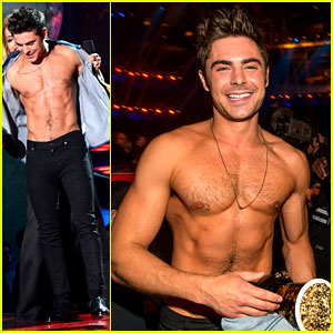 Here Are More Zac Efron Shirtless Photos, Because Why Not!
