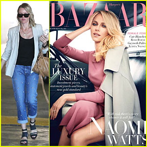 Naomi Watts Talks 'Diana' Problems in 'Harper's Bazaar Australia'!