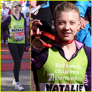 Game of Thrones' Natalie Dormer Runs London Marathon for Charity!