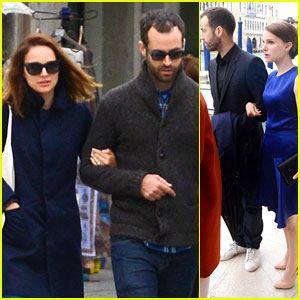 Natalie Portman & Husband Benjamin Millepied Take a Romantic Vacation in Venice!
