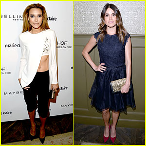 Naya Rivera & Nikki Reed Celebrate 'Marie Claire' May Cover Stars!