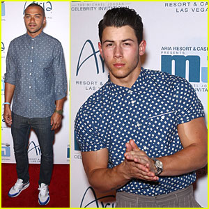 Nick Jonas' Bulging Muscles Pop Out of His Shirt in Vegas!