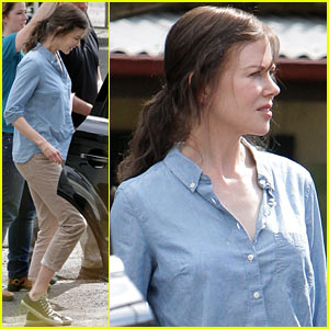 Nicole Kidman Says Bye to Blonde & Hello to Brunette for 'Strangerland'!