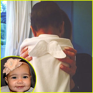 North West is Such an Angel - See Kim Kardashian & Kanye West's Daughter's Adorable Outfit!