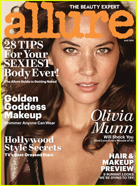 Olivia Munn Is Alluring, But Won't Ever Let Joel Kinnamen See Her Shave!