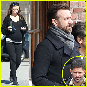 Olivia Wilde Stocks Up on Food for Her Baby Bump, Jason Sudeikis Films with Joe Manganiello!