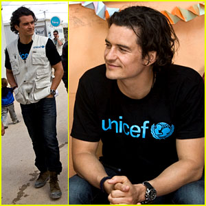 Orlando Bloom Visits Syrian Refugees in Jordan with UNICEF