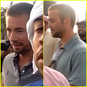 Paul Walker's Brothers Spotted on 'Fast & Furious 7' Dubai Set!