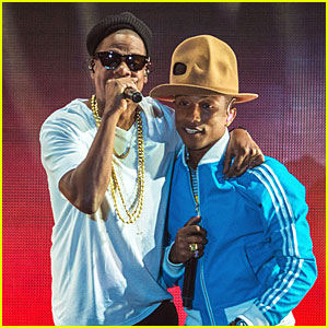Pharrell Williams & Jay Z Are Big Time Hitmakers Performing at Coachella - Watch Now!