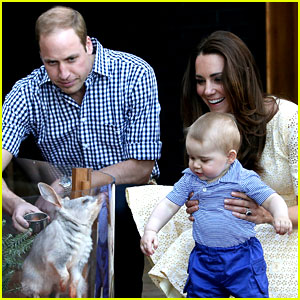 Prince George Goes to the Zoo & It'