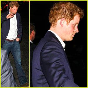 Prince Harry Steps Out Amidst All Sorts of Cressida Bonas Rumors!