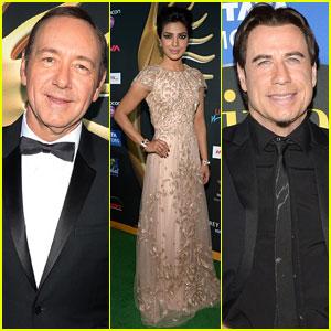 Priyanka Chopra & Kevin Spacey Hit Tampa for IIFA Awards with John Travolta!