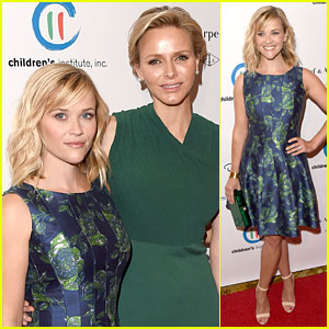 Reese Witherspoon Mingles with a Princess at Colleagues' Spring Luncheon