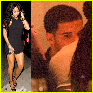 Rihanna Brings Drake to Her BFF's Birthday Dinner!