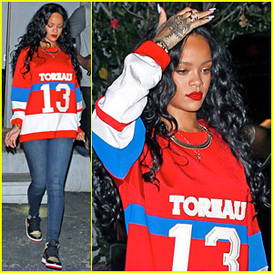 Rihanna Enjoys a Night Out at Greystone Manor After Celebrating Mother's Birthday!