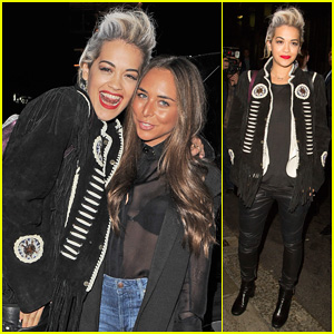 Rita Ora Struts Her Stuff for 'Girl, You Better Walk' Funny or Die Skit!