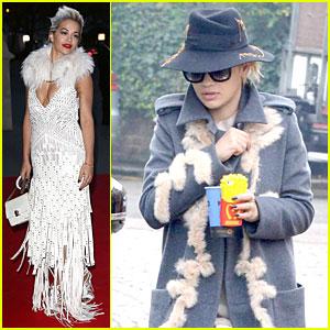 Rita Ora Does Frills Right at Glamour Of Italian Fashion Exhibition!