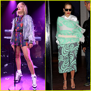 Rita Ora Reportedly Signs New Ad Deal with Roberto Cavalli