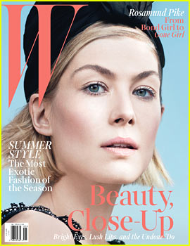 Gone Girl's Rosamund Pike to 'W Magazine': I Have to Prove I'm as Dark as David Fincher Thinks I Am!