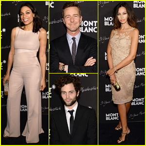 Rosario Dawson & Madalina Ghenea Join Montblanc to Celebrate 90 Years of the Iconic Meisterstuck!