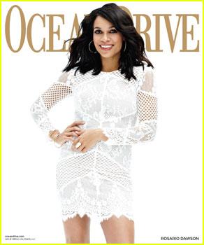 Rosario Dawson Talks Starting a Family in 'Ocean Drive' Magazine!