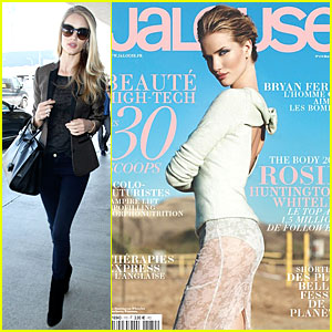 Rosie Huntington-Whiteley Shows Off Gorgeous Back on 'Jalouse' Cover!
