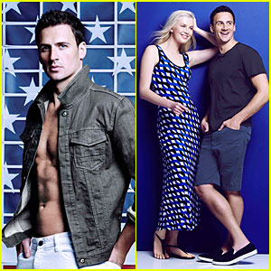 Ryan Lochte & Ireland Baldwin Are Proud American Icons for Calvin Klein White Label's Campaign!