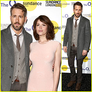 Ryan Reynolds & Gemma Arterton Premiere Creepy Film 'The Voices' at Sundance London Fest!