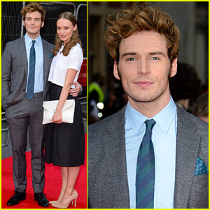 Sam Claflin Brings Wife Laura Haddock to World Premiere of 'Quiet Ones'!