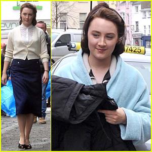 Saoirse Ronan Begins Filming 'Brooklyn' in Ireland!