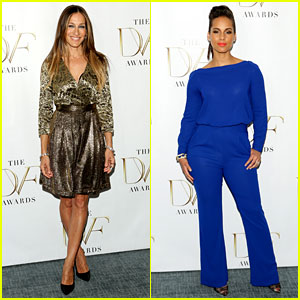 Sarah Jessica Parker & Alicia Keys Are Super Stylish at DVF Awards in New York!